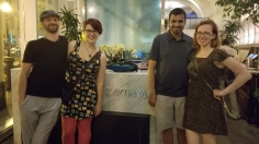 Amazing dinner at Zaytinya with awesome people