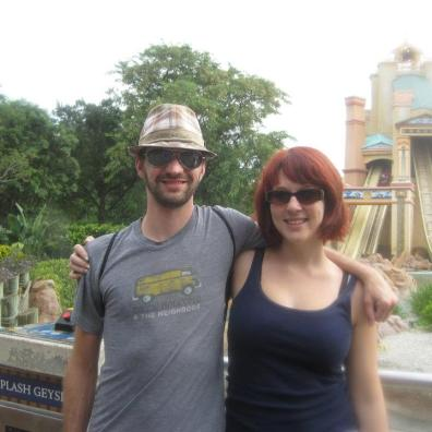 2011. Trip to Orlando for a wedding. Justin's first time to Sea World