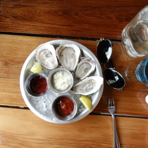 Oysters at Almocar