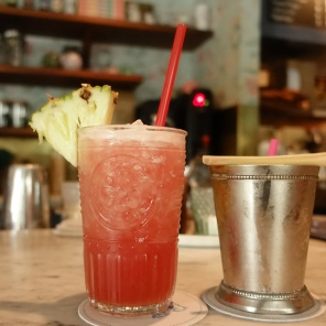 Drinks at Elizabeth Street Cafe (try the macaroons too!)