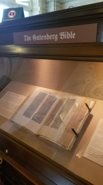 The Gutenberg Bible!!