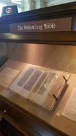 The Gutenberg Bible!!