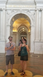 We got our Library of Congress cards!