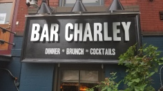 Justin's favorite bar, Bar Charley, in DC