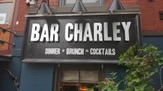 Justin's favorite bar, Bar Charley, in DC