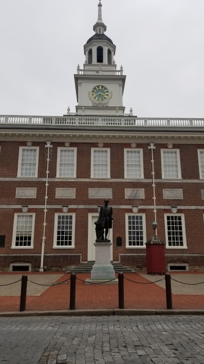 Independence Hall from the backside