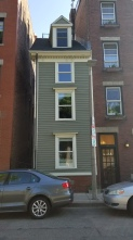 The narrowest house in Boston
