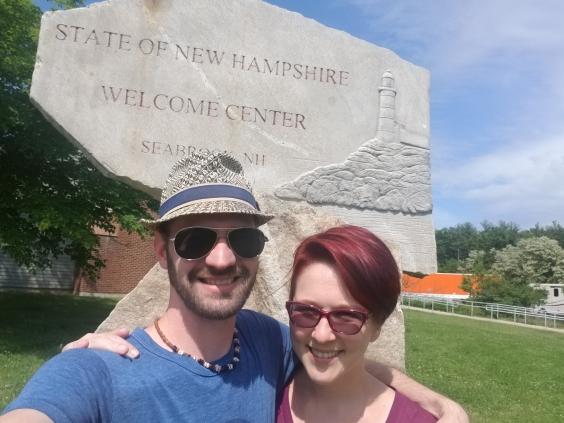 Passing through New Hampshire