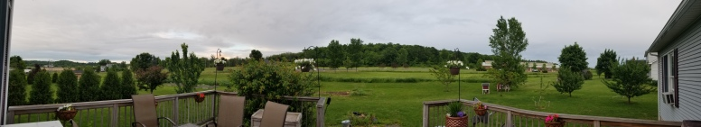 The view from our home in Vergennes