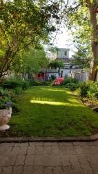 Our relaxing backyard