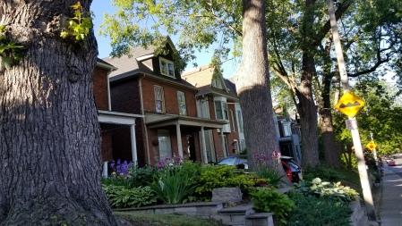 The neighborhood of Riverdale
