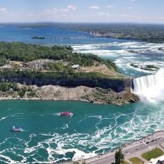A most awe-inspiring view, Niagara Falls, Canada