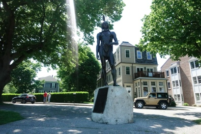 Massasoit, one of the first natives to befriend and help the pilgrims.