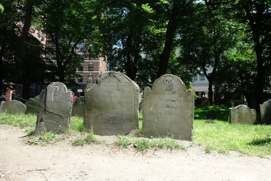 Tombstones from the 1600 and 1700s