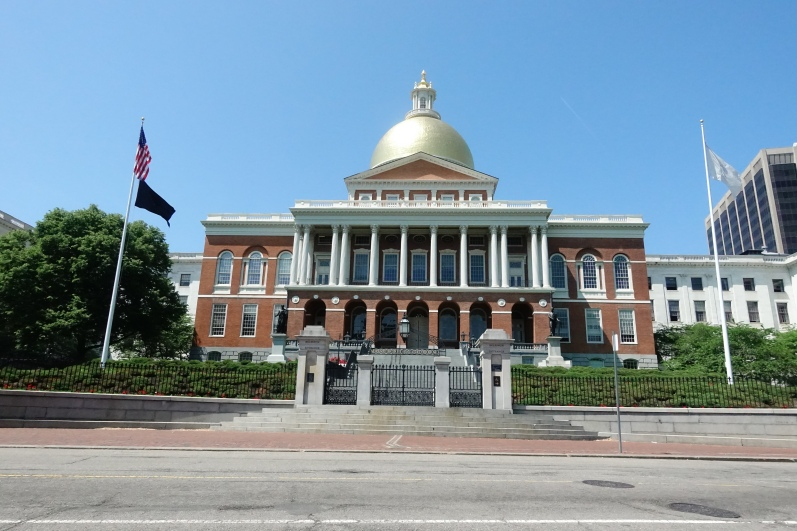 The current state house or capitol building