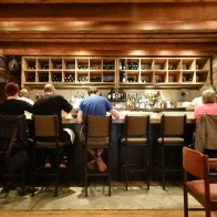 The oyster bar at Street and Co (always sit at the bar! You get to talk to people and get the inside scoop on a place)