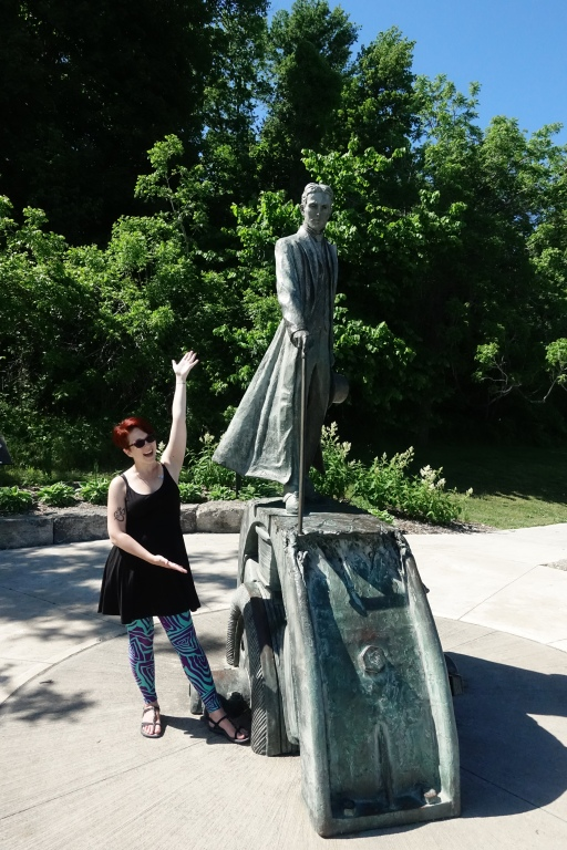 Me and Tesla, a family hero