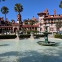Flagler College - used to be a fancy rich people hotel!