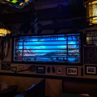 One of the 'windows' at Trader Sam's where weird stuff happens periodically