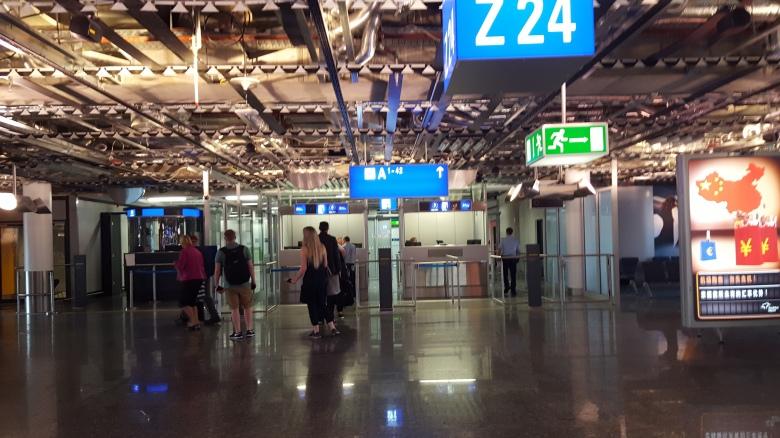 Barcelona subway station where I had a major anxiety attack